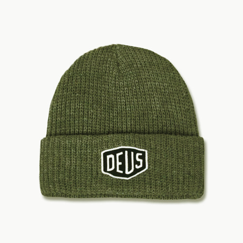 SHIELD BEANIEOLIVE