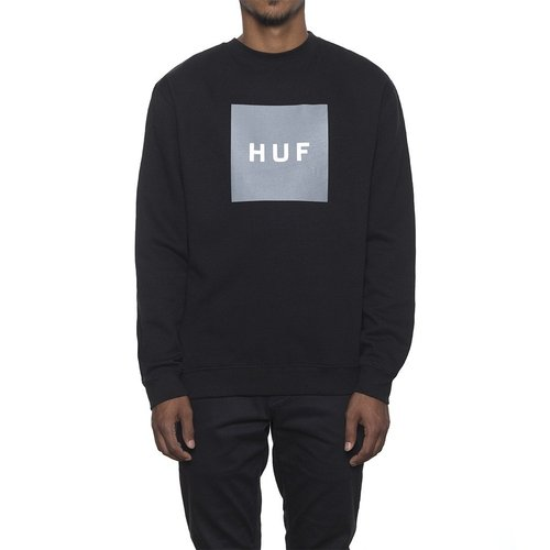 BOX LOGO CREWNECK FLEECEBLACK