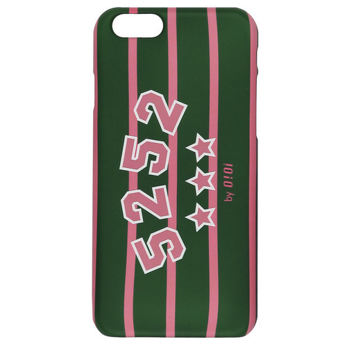 LOGO STRIPE PHONE CASE_pinkiphone6(6s)