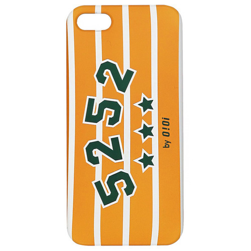 LOGO STRIPE PHONE CASE_yellowiphone6(6s)
