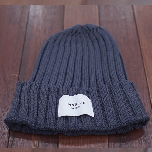 INSPIRE KNIT BEANIEGRAY
