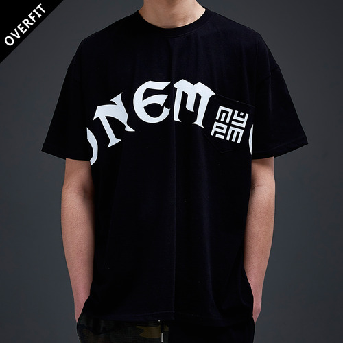 [NYPM] ONEMIC TEE (BLK)