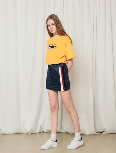 SIDE LINE TRAINING SKIRT_navy