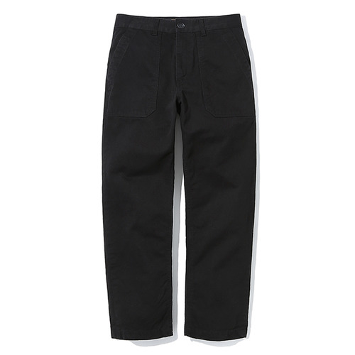 전화문의17SS COTTON FATIQUE PANTSBLACK