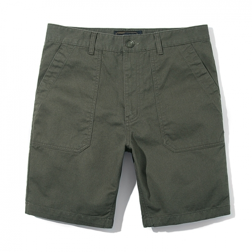 재입고전화문의17SS COTTON FATIGUE SHORTSKHAKI