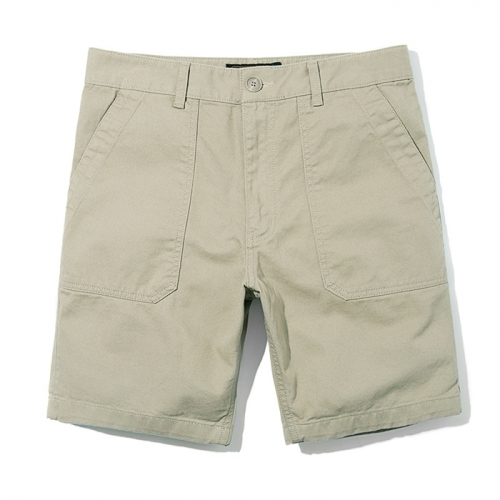 재입고전화문의17SS COTTON FATIGUE SHORTSBEIGE