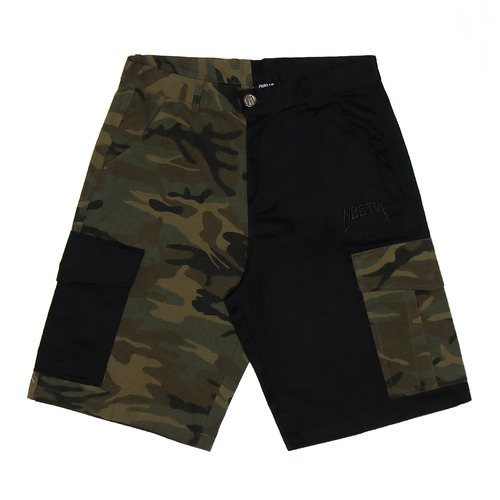 [NYPM] NASTY HALFCAMO SHORTPANTS (BLK)