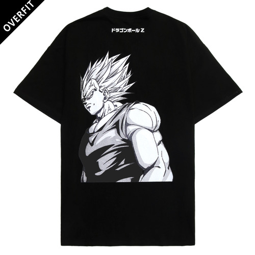 [NYPM] DBZ NASTY VEGETA SUPER TEE (BLK)