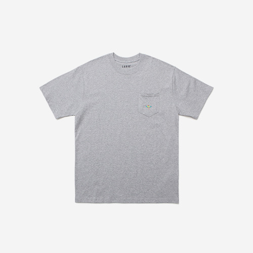 SURF POCKET TEEGREY