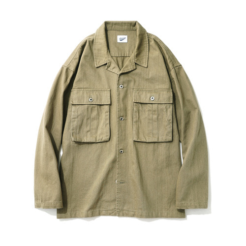 파르티멘토Desert Cotton Jacket Khaki