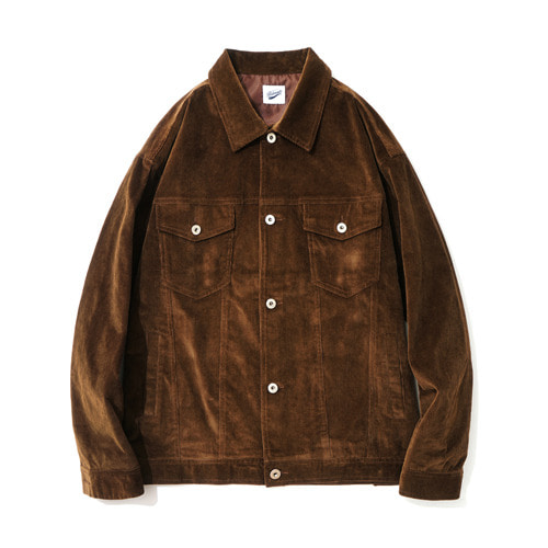 파르티멘토Corduroy 3rd Jacket Brown