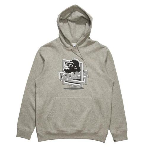 RIDDLE PULLOVER HOODIEGREY HEATHER