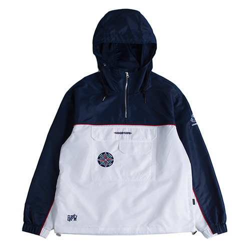 로맨틱크라운Piping Anorak_Navy