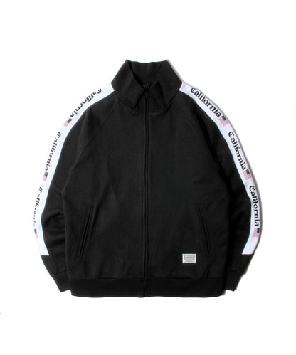 세인트페인SP SKOLLY SWEAT ZIPUP-BLACK