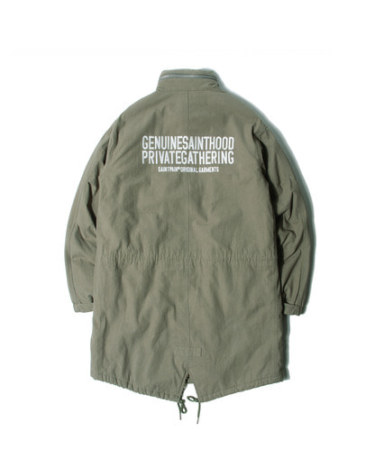 세인트페인SP 1964 FISHTAIL PARKA-KHAKI