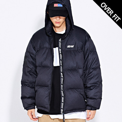 네스티킥[[NSTK] LIKE FURY PADDING JACKET (BLK)