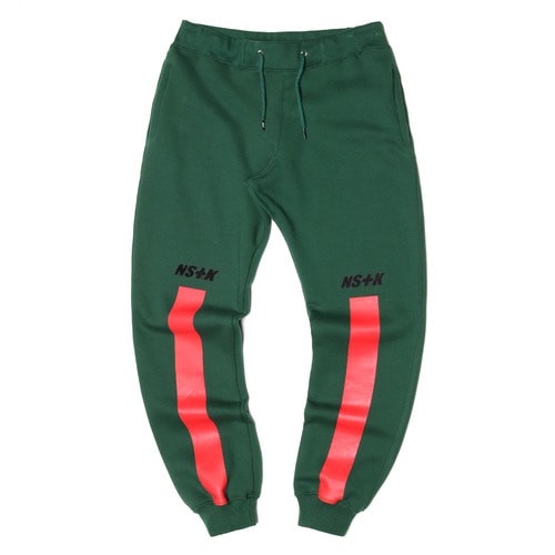 네스티킥[[NSTK] NSTK RISE SWEATPANTS (GREEN)