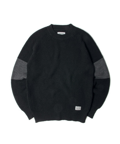 세인트페인SP MUI KNIT SWEATER-BLACK