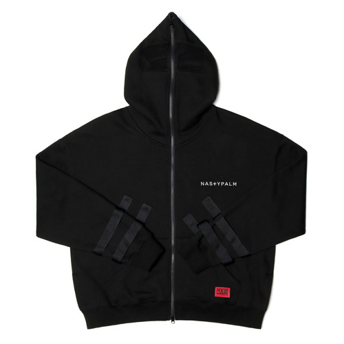[NYPM] SECLUSION HOOD ZIP-UP (BLK)
