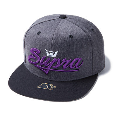 Supra Signature Starter - Charcoal/Heather